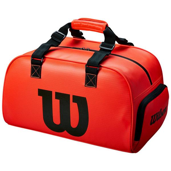 ウィルソン テニス バッグ WILSON DUFFEL SMALL INFRARED (WRZ847991)
