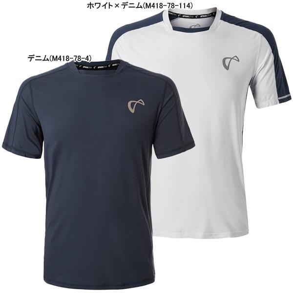 【SALE】アスレチックDNA メンズ テニス ウェア トレーニング クルー