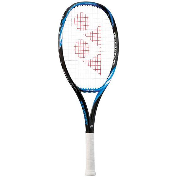 ヨネックス ジュニアテニスラケット Eゾーン 26 (ガット張上げ済) ブライトブルー (17EZ26G・576)