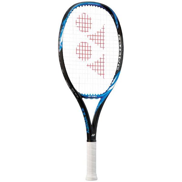 ヨネックス ジュニアテニスラケット Eゾーン 25 (ガット張上げ済) ブライトブルー (17EZ25G・576)