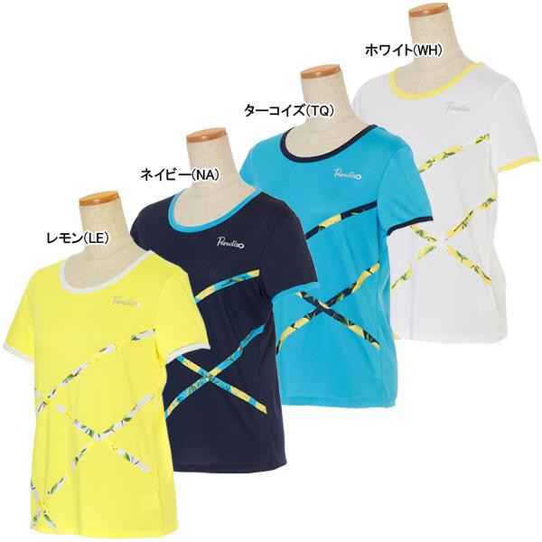 パラディーゾ レディース テニスウェア 半袖シャツ (NCL06A)