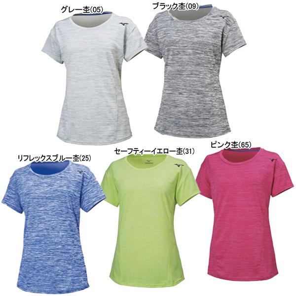 ミズノ レディース トレーニングウェア Tシャツ (32MA9311)