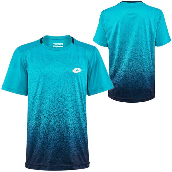 ロット ジュニア(ボーイズ) テニスウェア テック プリンテッド クルーシャツ (210624)