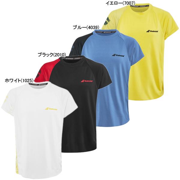 バボラ ジュニア(ボーイズ) テニスウェア パフォーマンス クルーシャツ (2BS19011)