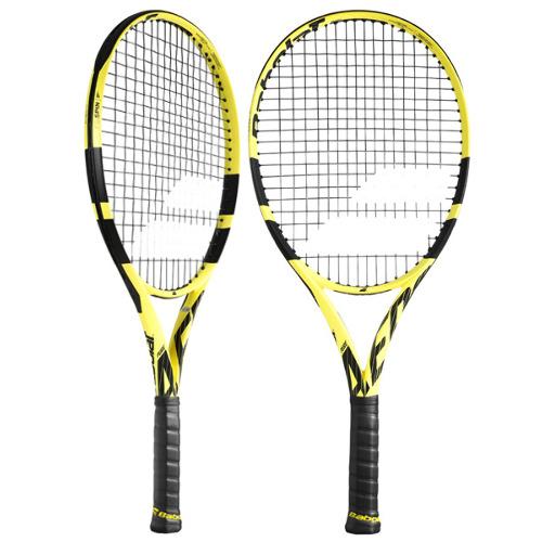 バボラ ジュニアテニスラケット ピュア アエロ・ジュニア 25 (ガット張上げ済) (BF140254)
