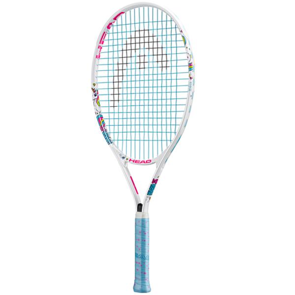 ヘッド ジュニアテニスラケット マリア 25 ホワイト (ガット張上げ済) (235608)