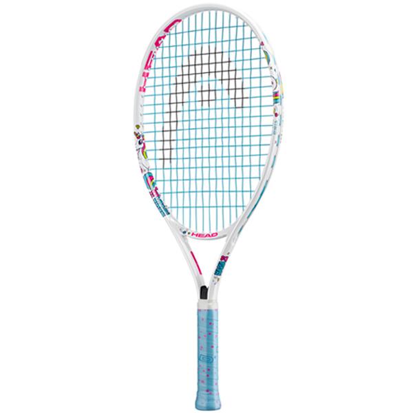 ヘッド ジュニアテニスラケット マリア 23 ホワイト (ガット張上げ済) (235618)