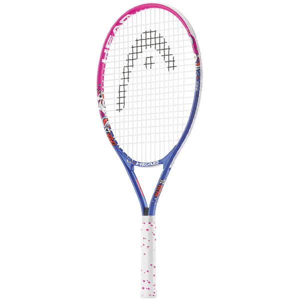 ヘッド ジュニアテニスラケット マリア 25 ピンク×ブルー (ガット張上げ済) (233408)