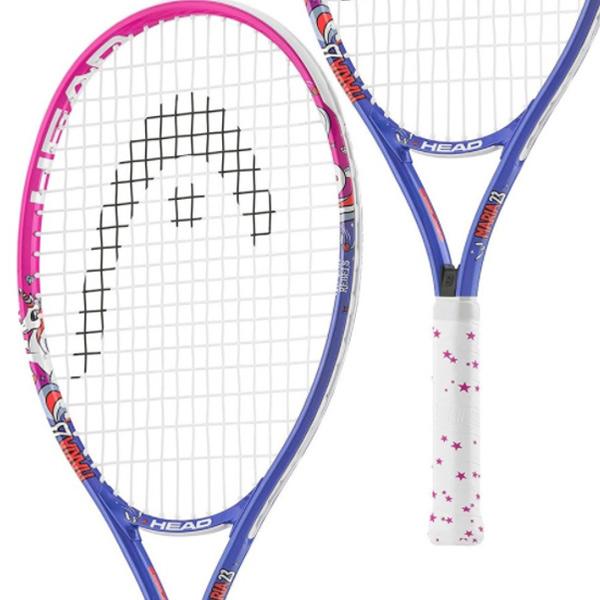 ヘッド ジュニアテニスラケット マリア 23 ピンク×ブルー (ガット張上げ済) (233418)