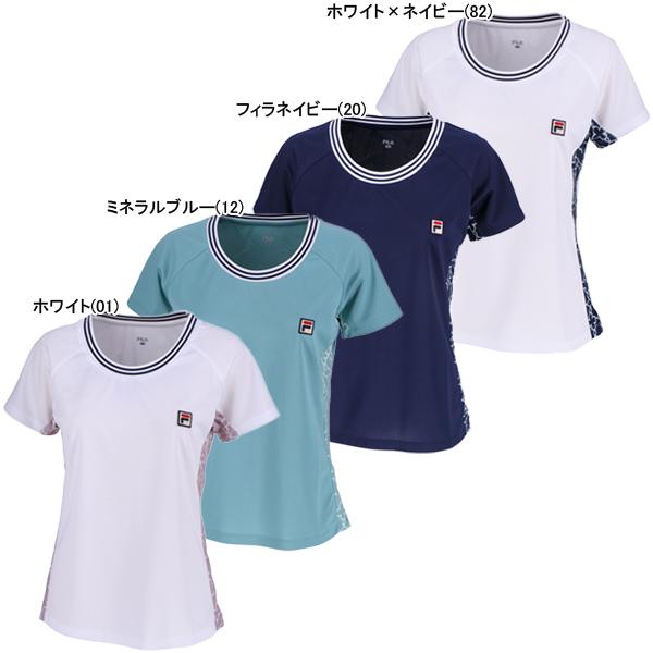 フィラ レディース テニスウェア ゲームシャツ (VL1949)