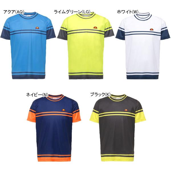 【SALE】エレッセ メンズ テニス ウェア クルーネックシャツ (ETS06100)