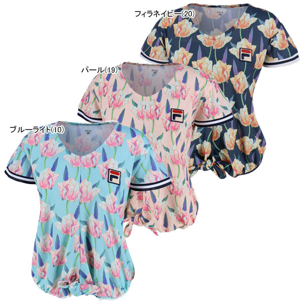 【SALE】フィラ レディース テニスウェア ゲームシャツ (VL1787)