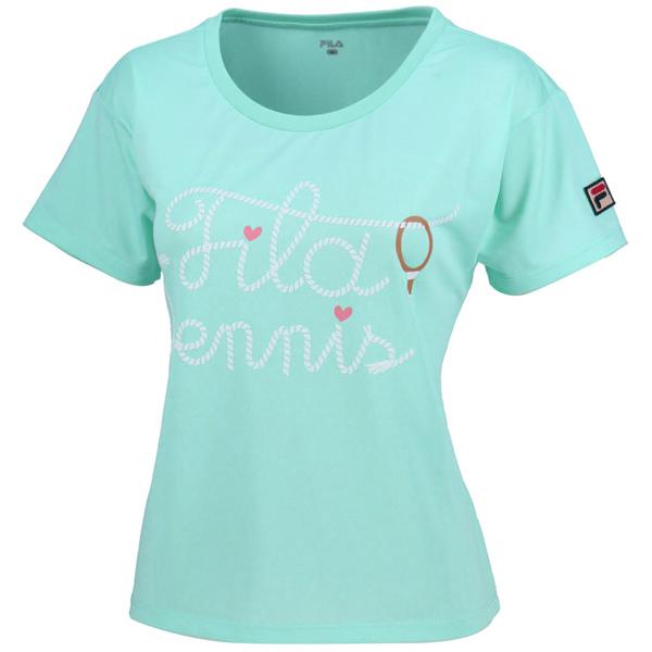 【SALE】フィラ レディース テニスウェア グラフィックTシャツ (VL1800)