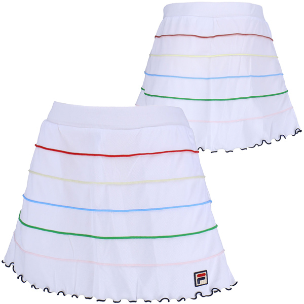 【SALE】フィラ レディース テニスウェア スコート (VL1805)
