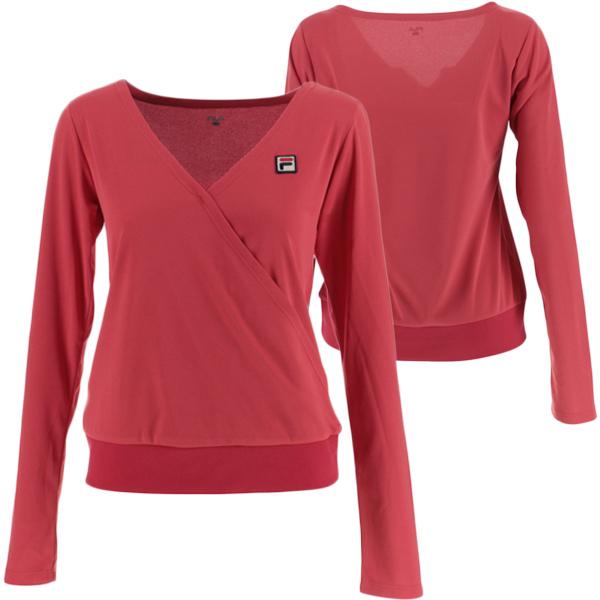 【SALE】フィラ レディース テニスウェア ロングスリーブシャツ (VL1831)