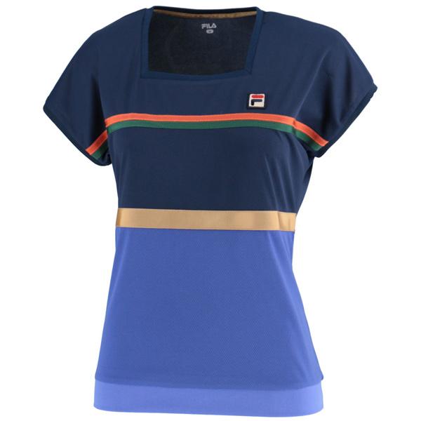 【SALE】フィラ レディース テニスウェア ゲームシャツ (VL1847)