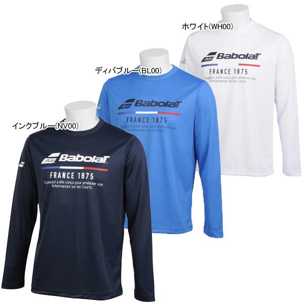 バボラ ユニセックス テニス ウェア ロングスリーブシャツ (BTUNJB30)