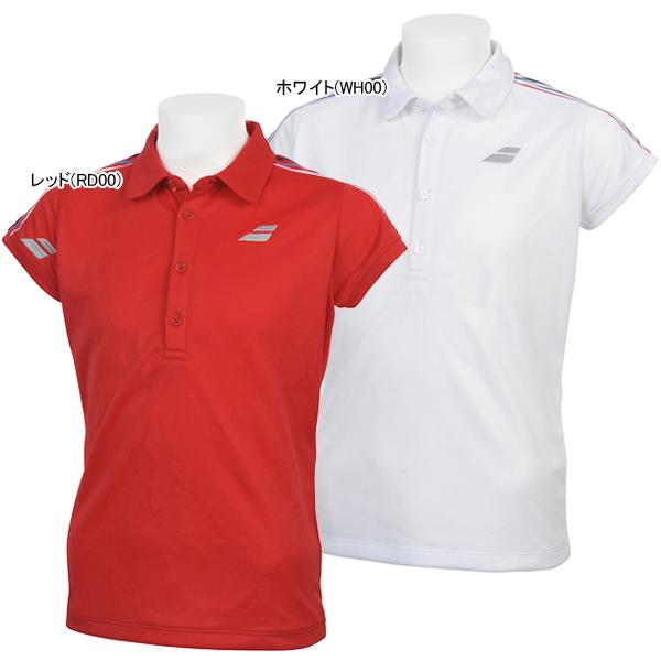 バボラ ジュニア(ガールズ) テニス ウェア ショートスリーブシャツ (BTJNJA01)