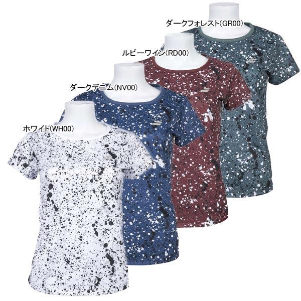バボラ レディース テニスウェア ショートスリーブ Tシャツ (BTWOJA04)