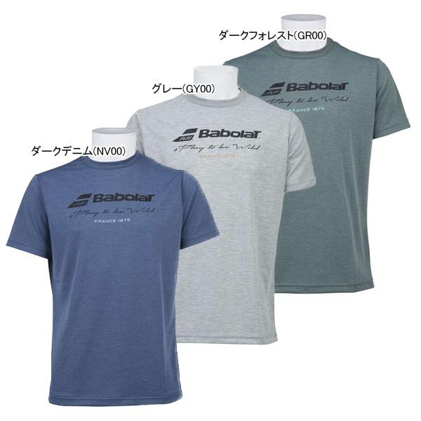 バボラ ユニセックス テニスウェア プラクティス ショートスリーブ Tシャツ (BTUOJA30)