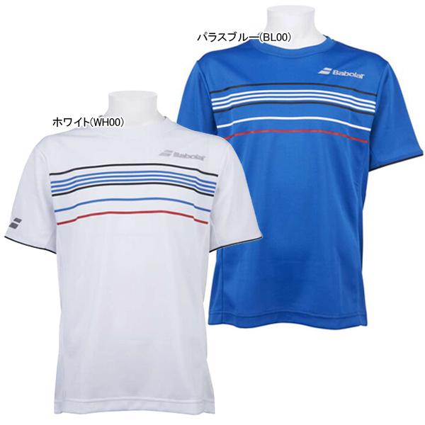 バボラ ジュニア(ボーイズ) テニスウェア ショートスリーブ Tシャツ (BTJOJA00)
