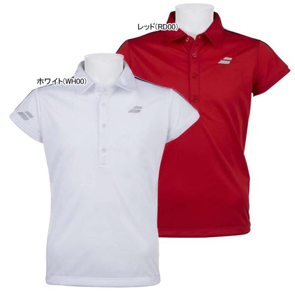 バボラ ジュニア(ガールズ) テニスウェア ゲームシャツ (BTJOJA01)