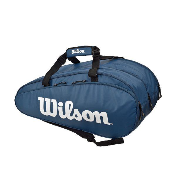 ウィルソン テニス ラケットバッグ TOUR 3 COMP NYWH (ラケット15本収納可能) (WR8002302001)