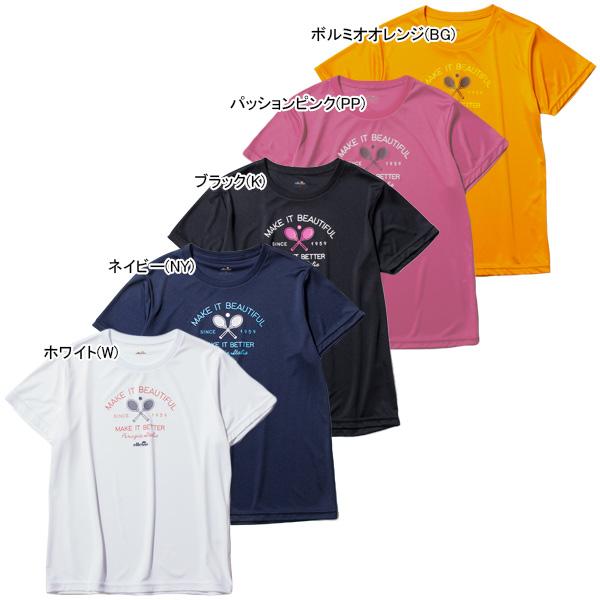 エレッセ レディース テニスウェア ラケット Tシャツ (EW19302)