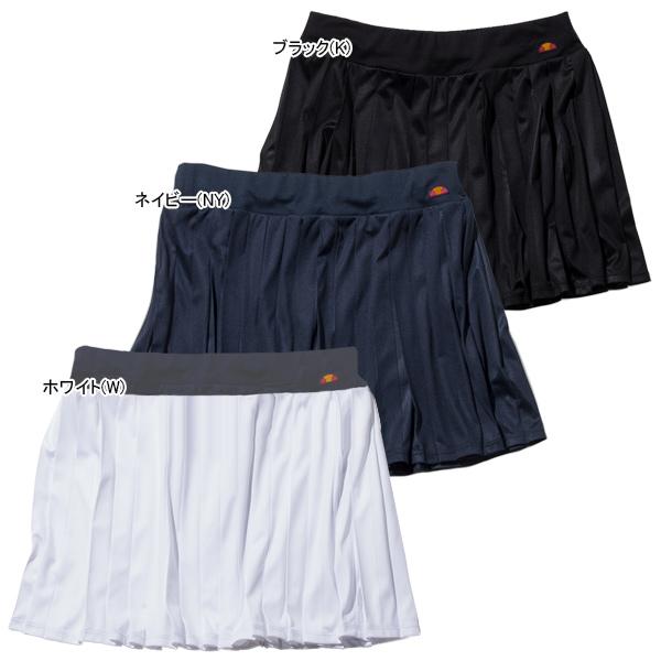 エレッセ レディース テニスウェア ベースライン プリーツ スカート (EW29301)