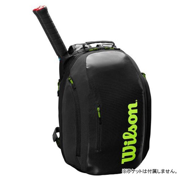 【※予約※8月23日発売予定】ウィルソン テニス バッグ SUPER TOUR BACKPACK (ラケット2本収納可能) (WR8004301001)
