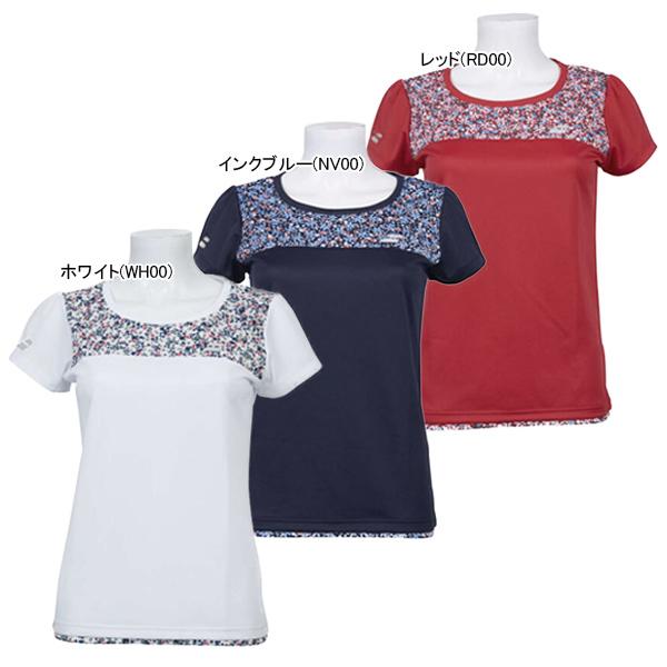 バボラ レディース テニスウェア ショートスリーブ Tシャツ (BTWOJA11)