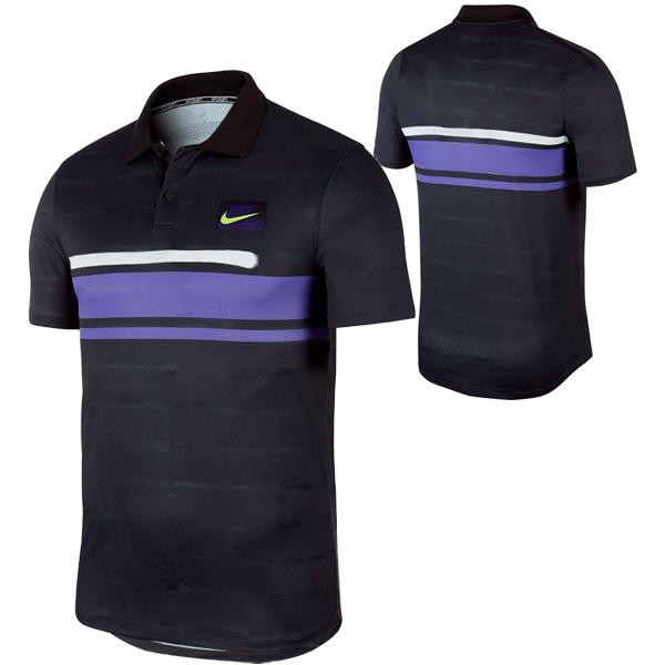 ナイキ メンズ テニスウェア コート アドバンテージ ポロシャツ (AT4159・045)