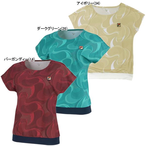 フィラ レディース テニスウェア ゲームシャツ (VL2000)