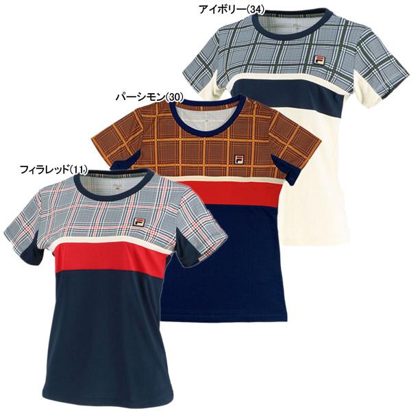 フィラ レディース テニスウェア ゲームシャツ (VL2009)