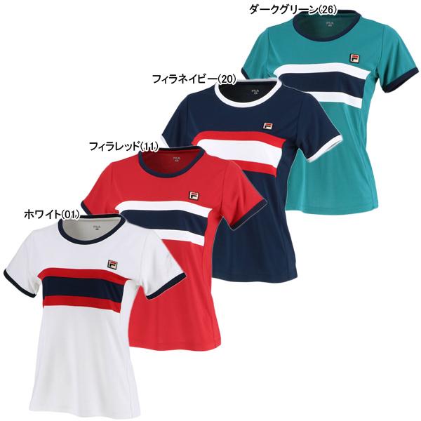 フィラ レディース テニスウェア ゲームシャツ (VL2040)
