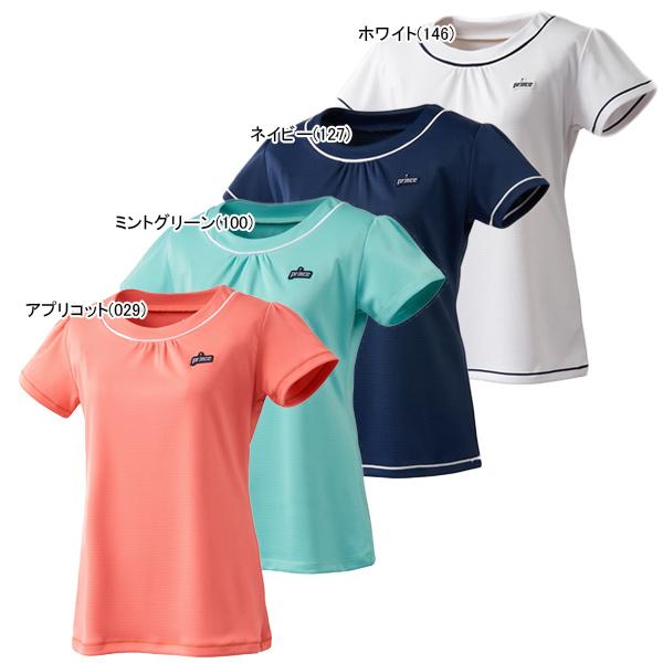 プリンス レディース テニスウェア ゲームシャツ (WL9075)