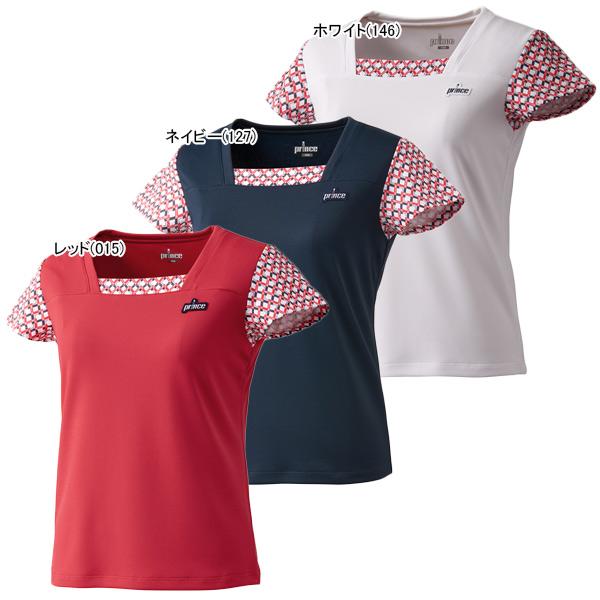 プリンス ジュニア ガールズ テニスウェア ゲームシャツ (WJ109G)