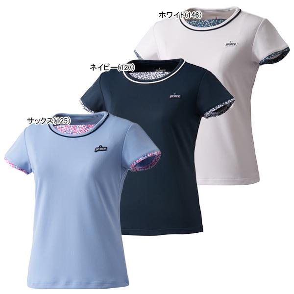 プリンス ジュニア ガールズ テニスウェア ゲームシャツ (WJ110G)