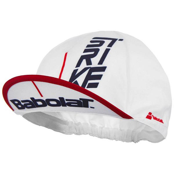 バボラ ユニセックス テニス ストライク キャップ ホワイト (5UA1223・1000)