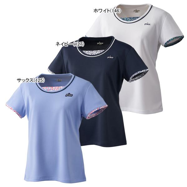 プリンス レディース テニス ウェア ゲームシャツ (WL9081)