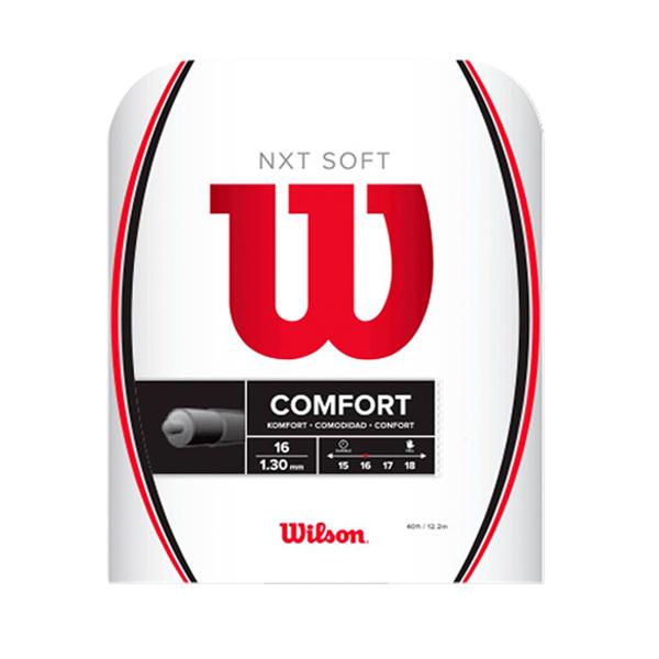 ウィルソン ガット NXT SOFT 16/1.30mm (WR830510116)