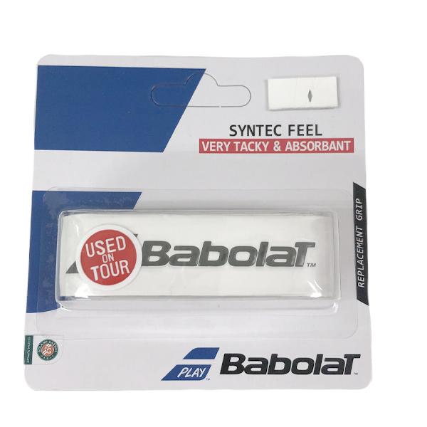 バボラ テニス リプレイスメント グリップテープ シンテックフィール ホワイト (BA670054・101)