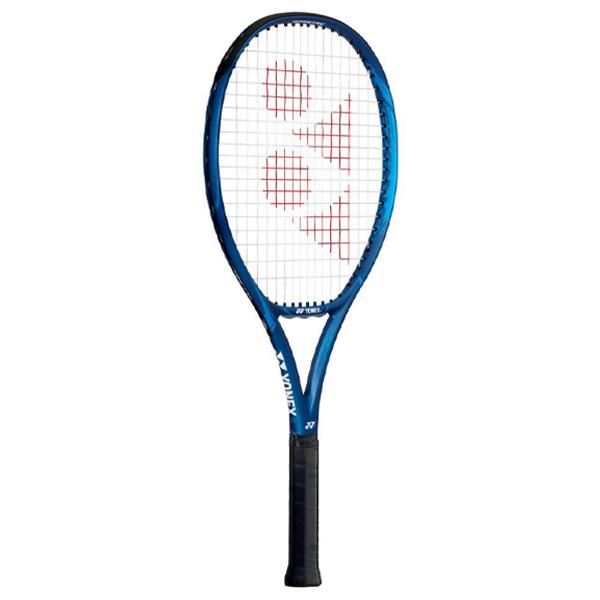 ヨネックス ジュニア テニスラケット Eゾーン 25 (ガット張上げ済) ディープブルー (06EZ25G・566)