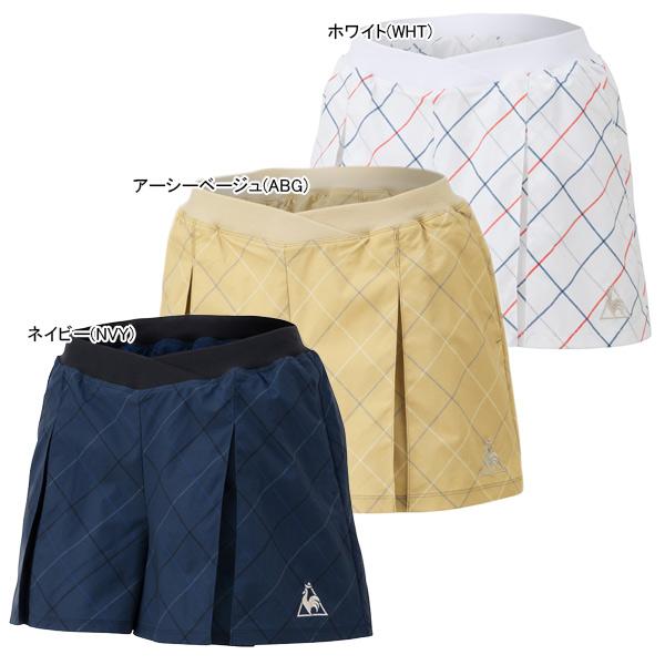 ルコック レディース テニス ウェア キュロットスカート (QTWPJE00)