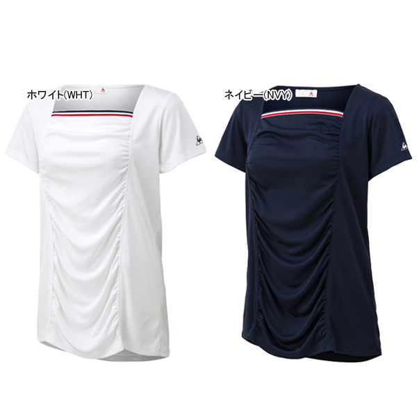 ルコック レディース テニス ウェア クラシックシャツ (QTWPJA02)