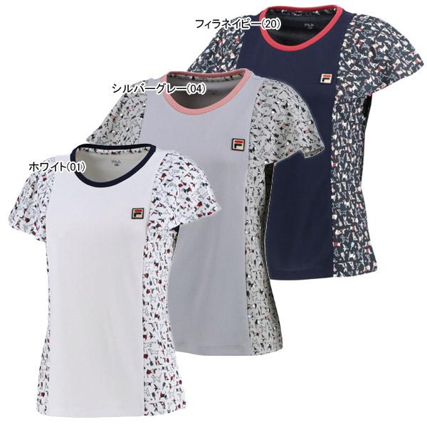 フィラ レディース テニス ウェア ゲームシャツ (VL2095)