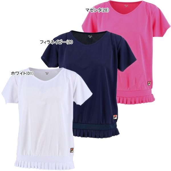 フィラ レディース テニス ウェア ゲームシャツ (VL2114)