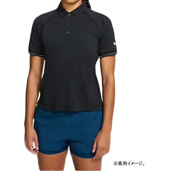 ナイキ レディース テニス ウェア コート エッセンシャル ポロ (BV1058・010)