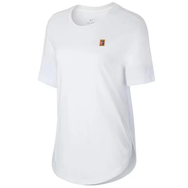 ナイキ レディース テニス ウェア コート WKND EMB Tシャツ (CQ2430・100)