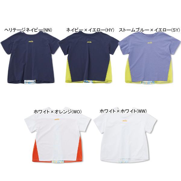 エレッセ レディース テニス ウェア バックタック シャツ (EW00108)